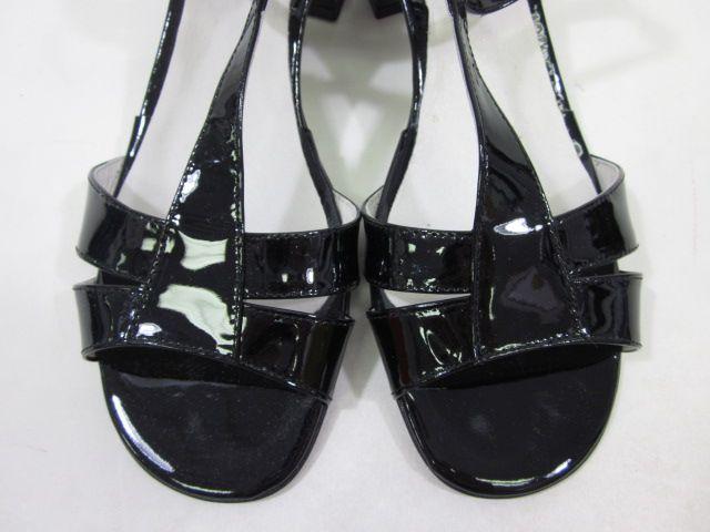 NIB STEVE MADDEN Black Slingback Peep Toe Heels Pumps 9