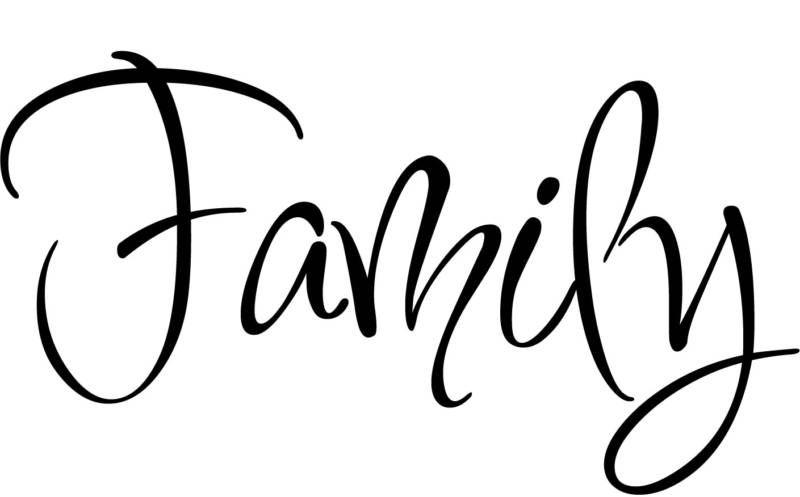 Family Inspiration Home Decor Vinyl Decal Wall Sticker