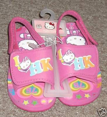 Hello Kitty Pool Beach pool Sandals Flip Flops PINK