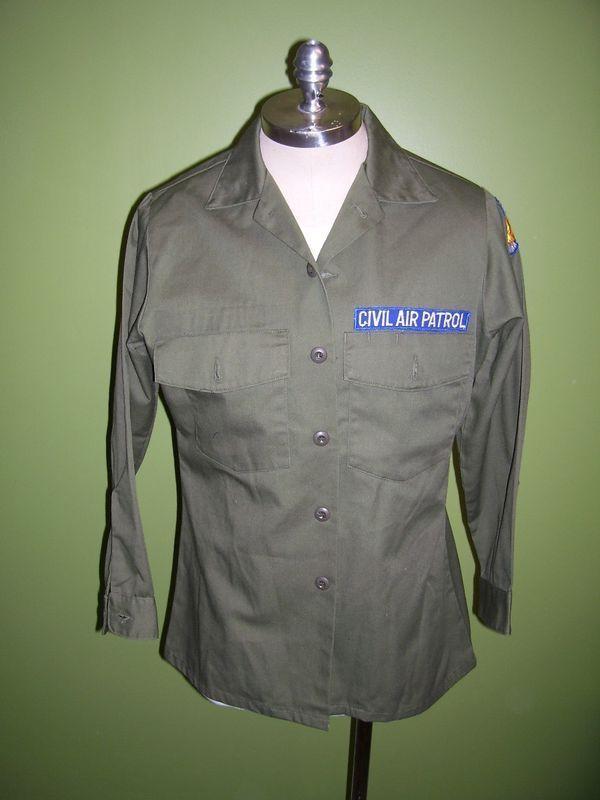 Illinois Wings 61 Civil Air Patrol Shirt/Uniform/Patch